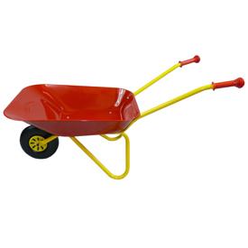 Imagen de Carretilla infantil de metal color roja
