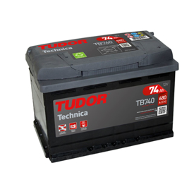 Imagen de Batería Tudor Technica TB740 TA19 M-75.0