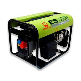 Imagen de Generador Pramac ES5000 + AVR 5,0 KW 400V