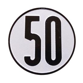Imagen de Disco limitación velocidad 50 km/h