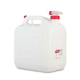 Imagen de Bidón 20 litros blanco con grifo Tayg