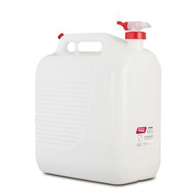 Imagen de Bidón 30 litros blanco con grifo Tayg