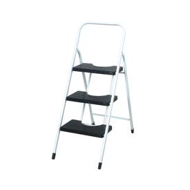 Imagen de Escalera taburete 3 peldaños con barandilla