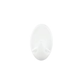 Imagen de Gancho Tesa ovalado blanco S