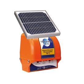 Imagen de Pastor eléctrico Zar Triunfo R-10 Solar 12V