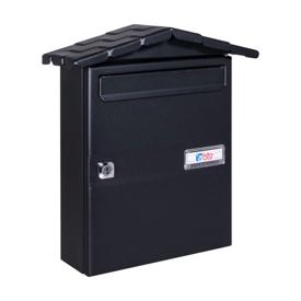 Imagen de Buzón modelo chalet Nº11 negro