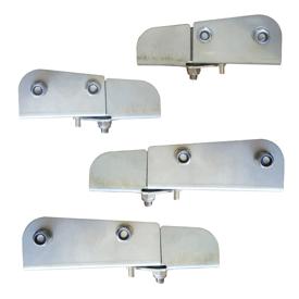 Imagen de Conjunto 4 paletas inox 130/170 mm adaptable Amazone