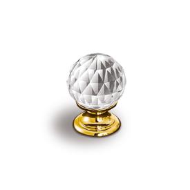 Imagen de Pomo dorado cristal Estamp 9932-100