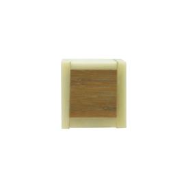 Imagen de Pomo cuadrado hueso Nesu 101BI 29 mm