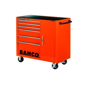 Imagen de Carro taller 6 cajones y armario Bahco 190 herramientas