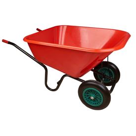 Imagen de Carretilla agrícola 300 litros 2 ruedas antipinchazos Karpatools