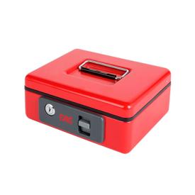 Imagen de Caja caudales con pulsador FAC B-2 roja