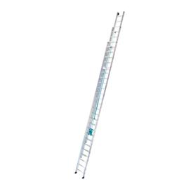 Imagen de Escalera extensible aluminio 3 tramos Tubesca Platinium 300