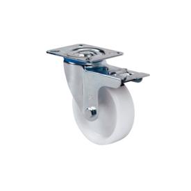 Imagen de Rueda giratoria poliamix Alex ZV-UT 100 mm 200 kg