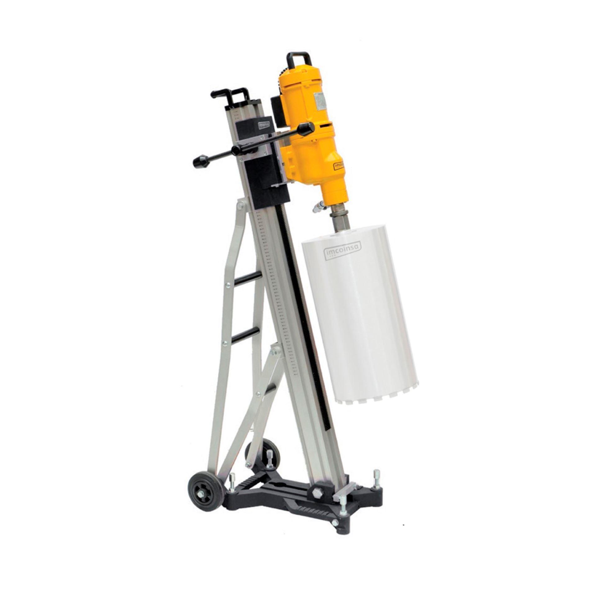 Imagen de Taladro perforación trifásico 3900W Ø 400 mm con soporte Imcoinsa