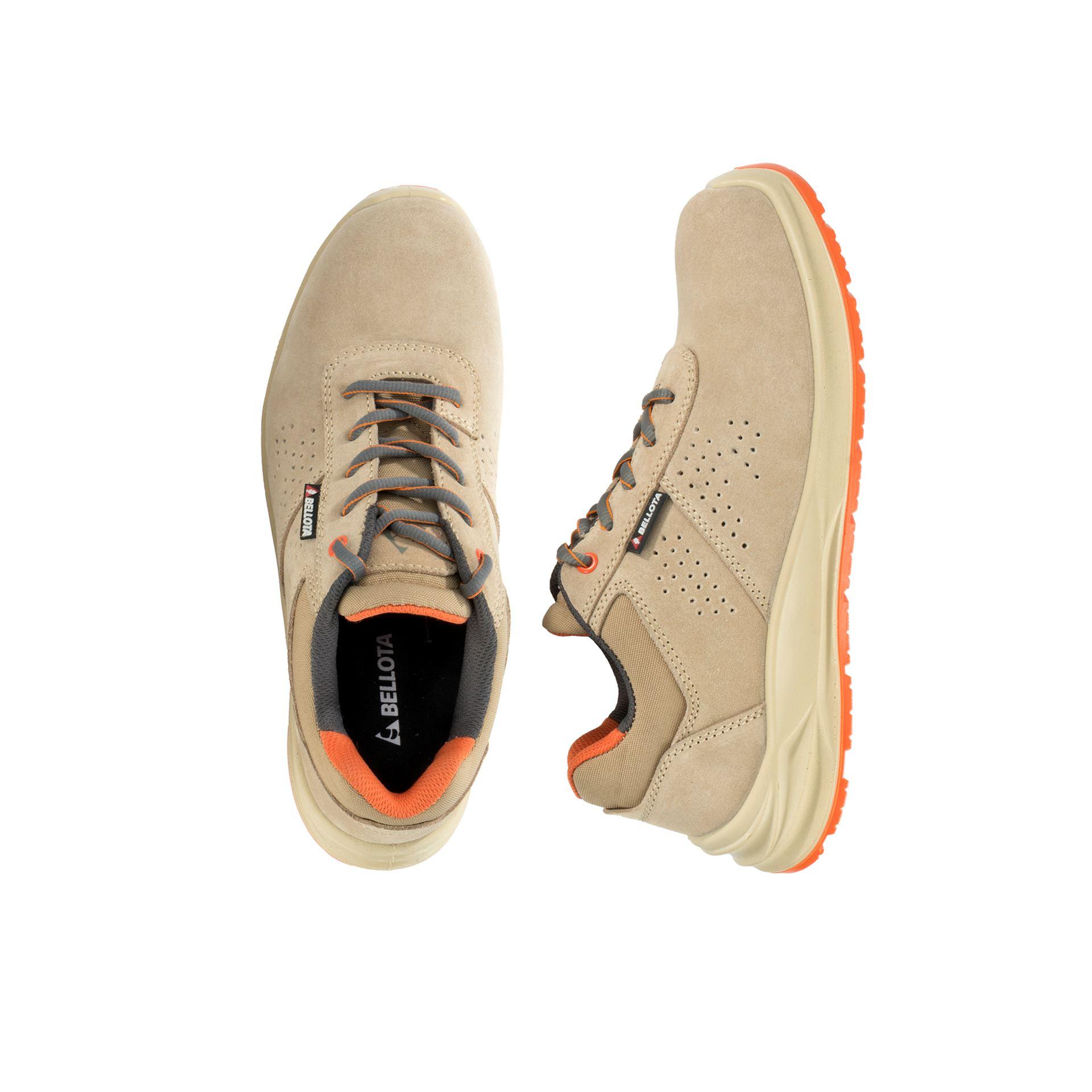 Imagen de Zapato seguridad S1P Bellota Flex Beige FTW02