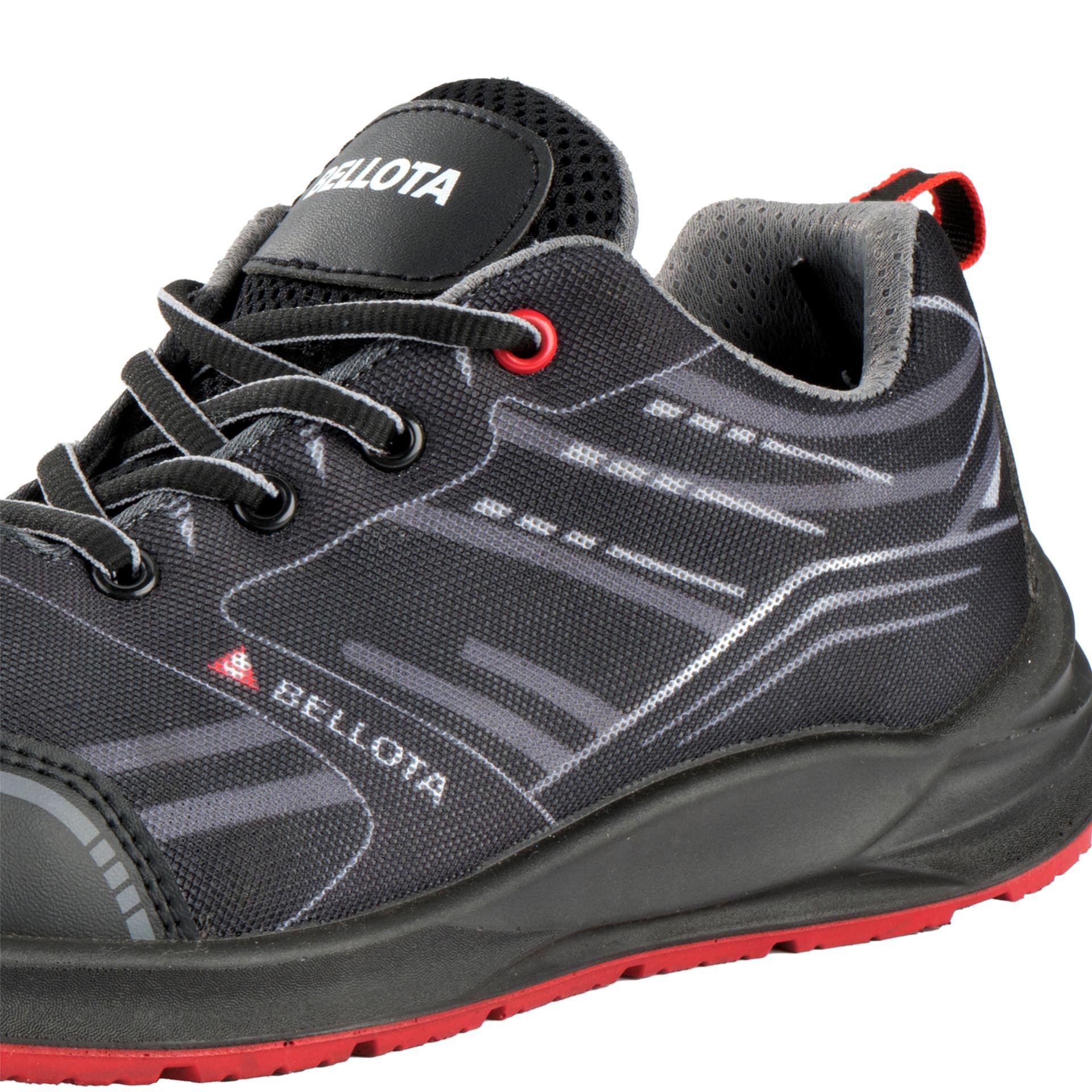 Imagen de Zapato seguridad S1P Bellota Flex Negro Sport FTW04