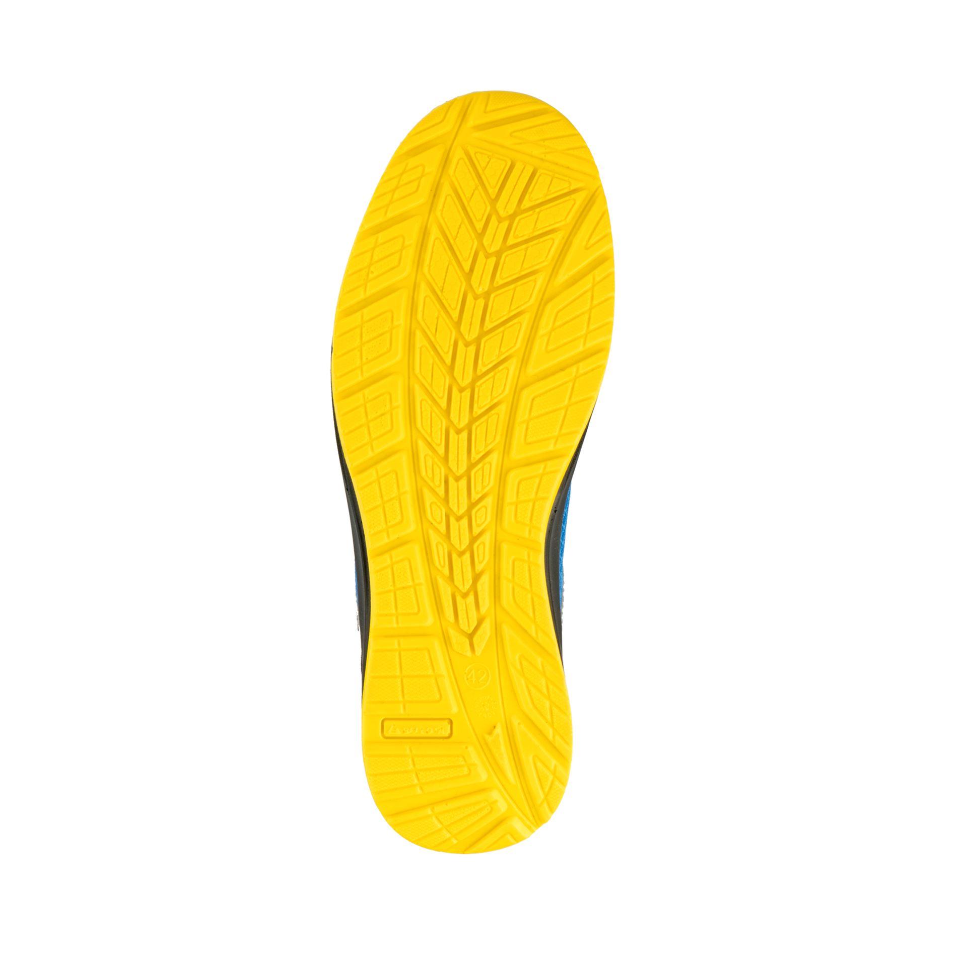 Imagen de Zapato seguridad S1P Bellota Flex azul-amarillo FTW05