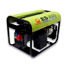 Imagen de Generador Pramac ES8000 + AVR 6,6 KW 400V + Kit Transporte