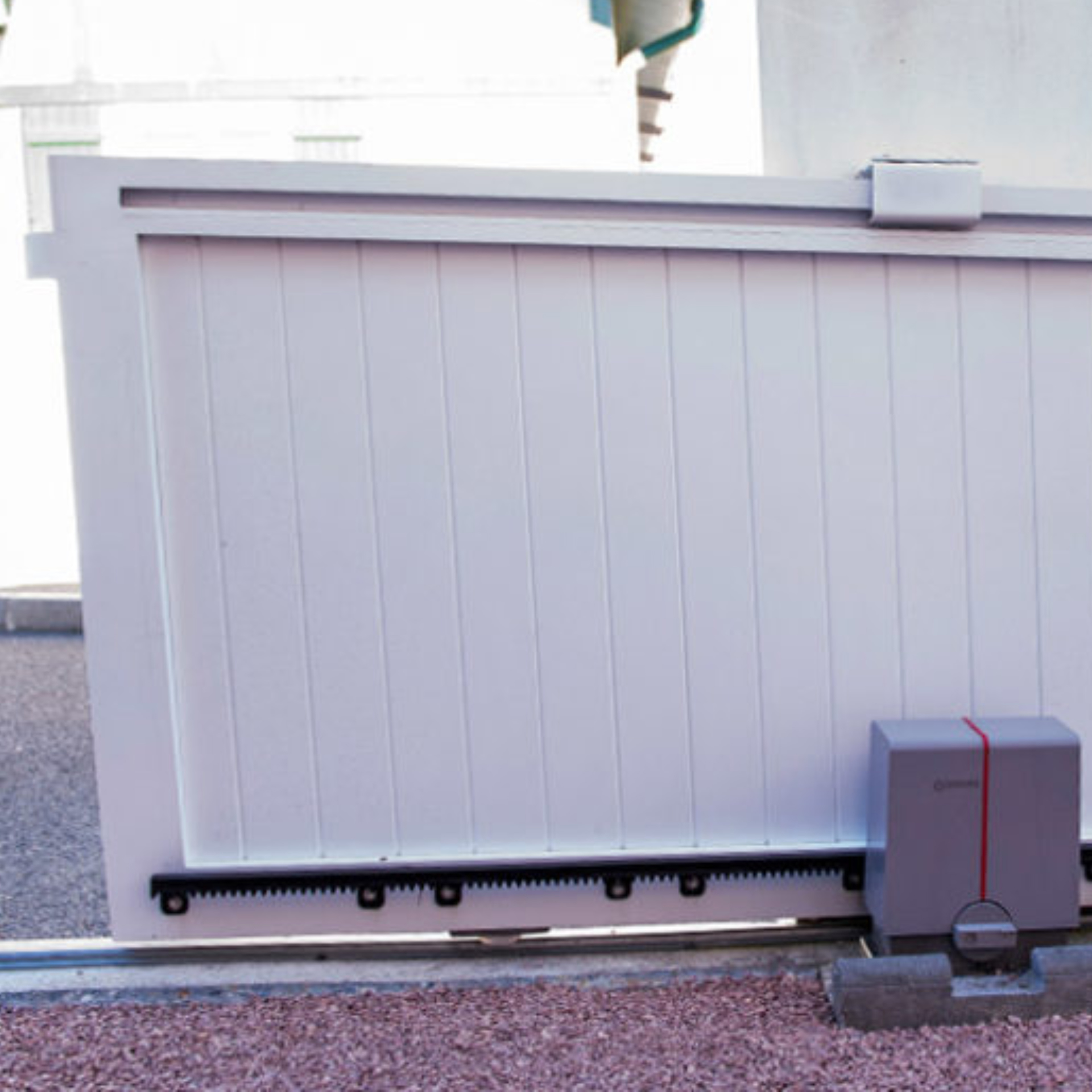 Imagen de Motor puerta corredera hasta 650 Kg Erreka Lince Kit completo